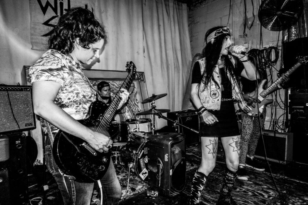Witch Slap performing at Rubulad