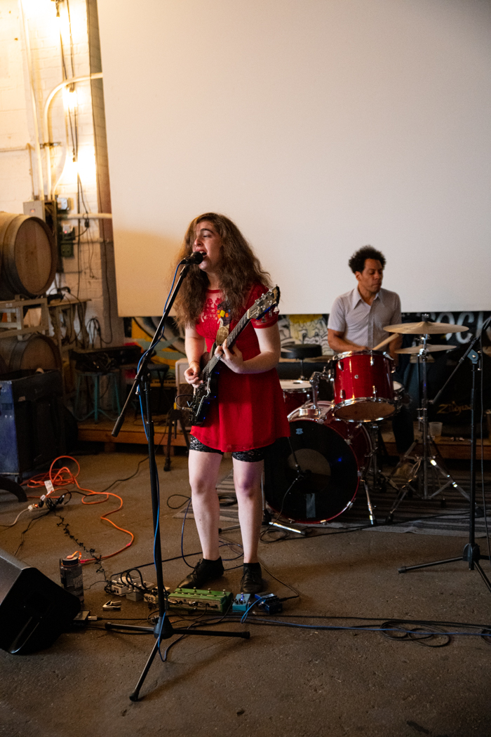 Amy Klein performing