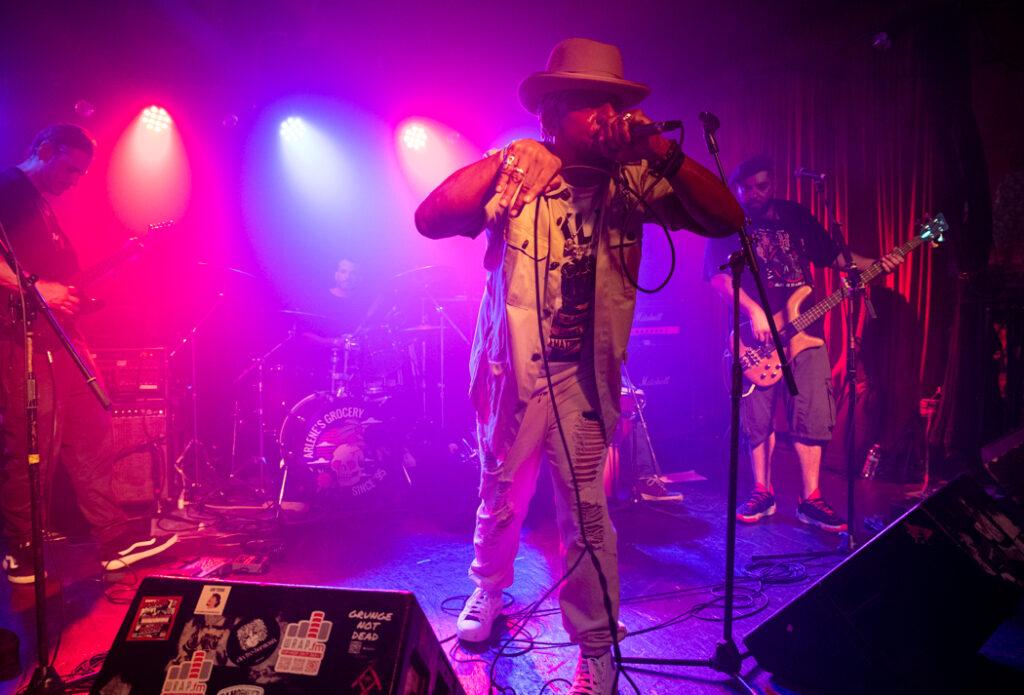 Dub Corps International performing