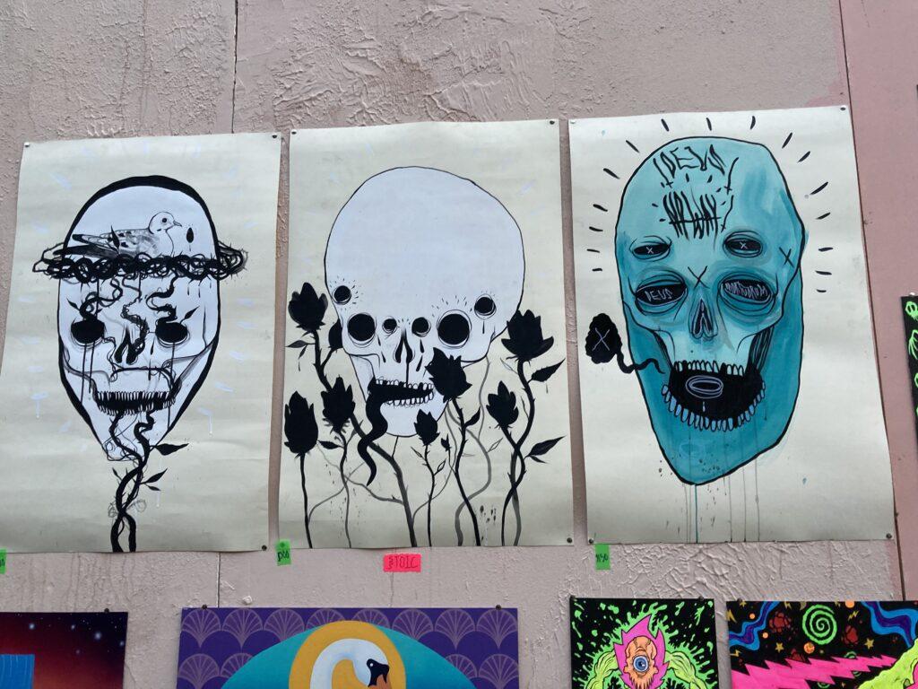 Art by Stoic Mortuorum featuring skulls