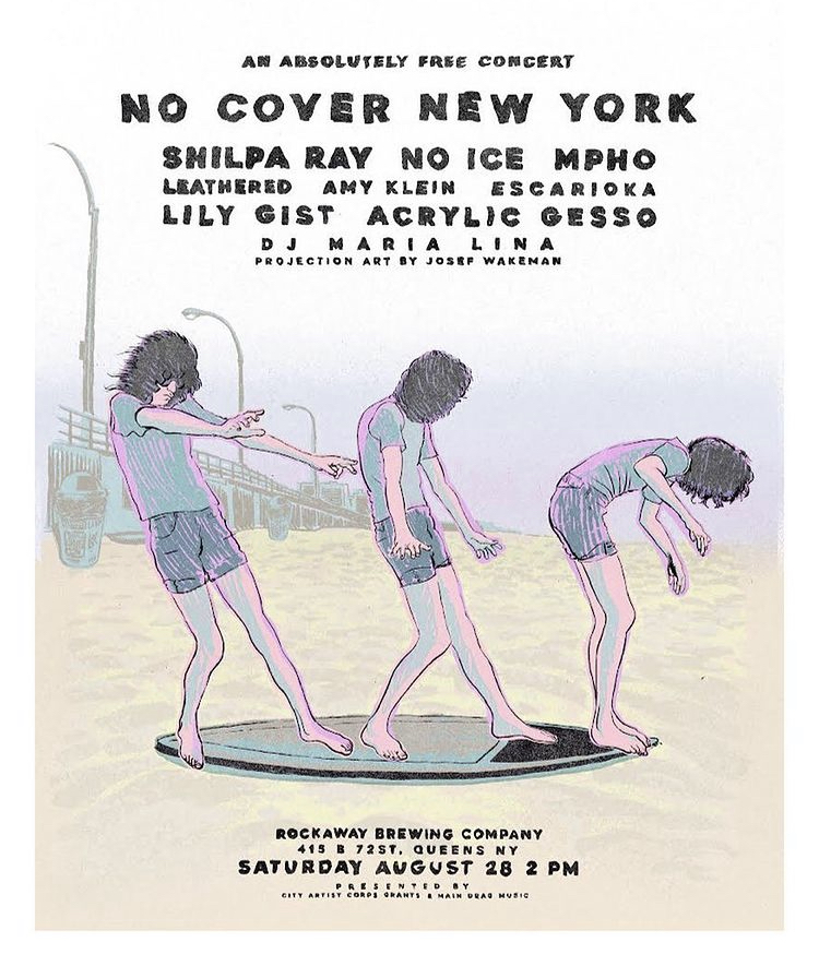 flyer for No Cover New York