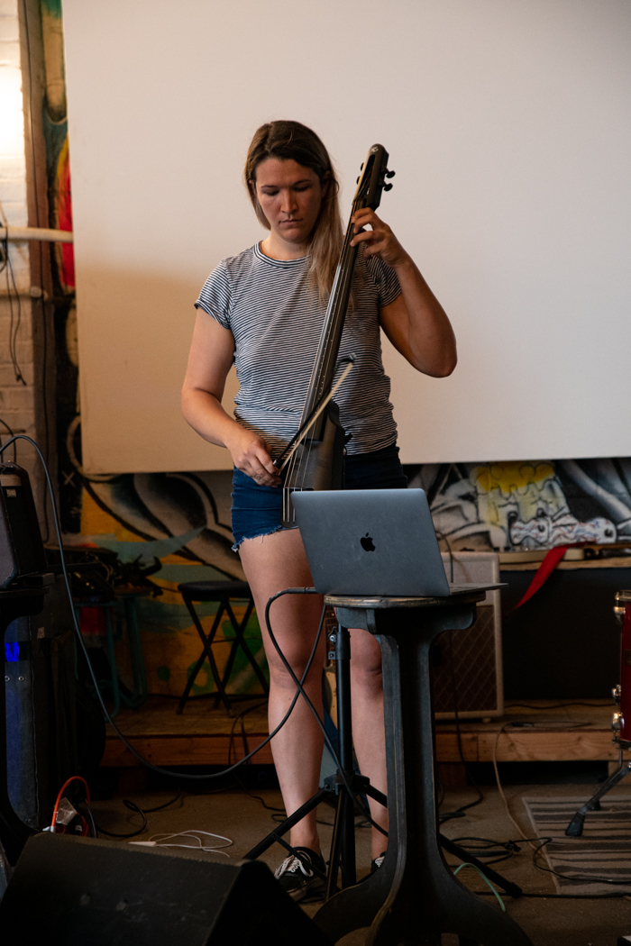 Lily Gist of Frida Kill performing