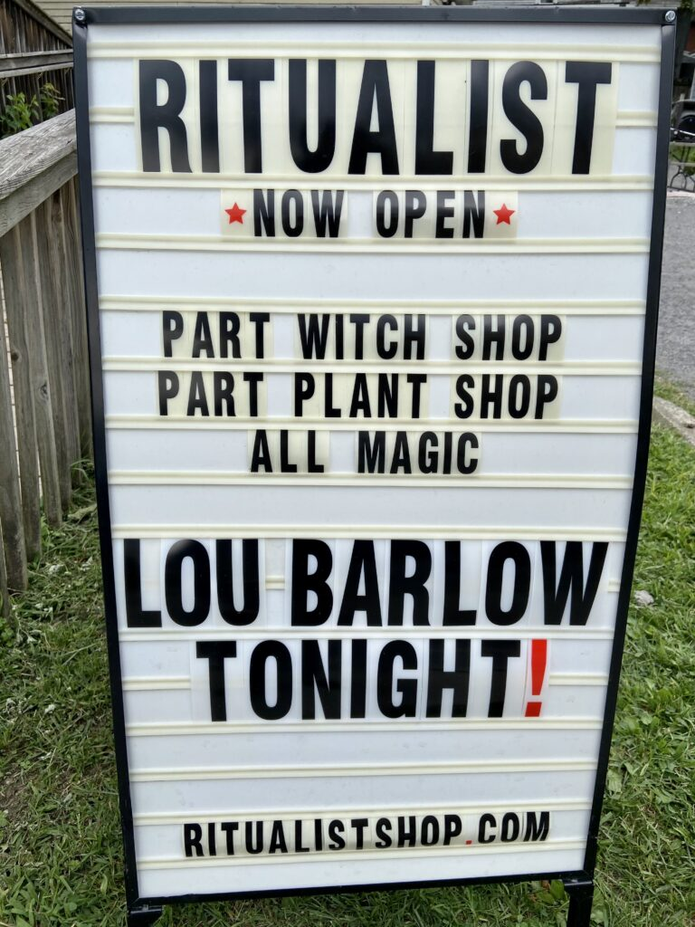 Sign for Ritualist