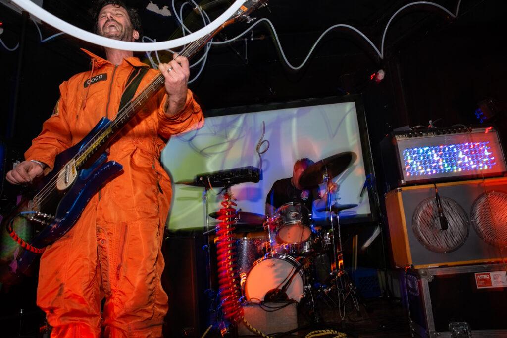 Man or Astro-Man? performing
