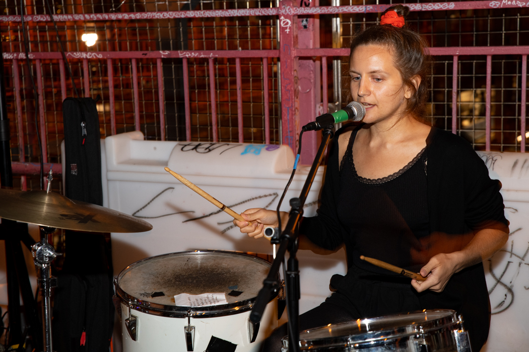 Privacy Issues performing on the Williamsburg Bridge