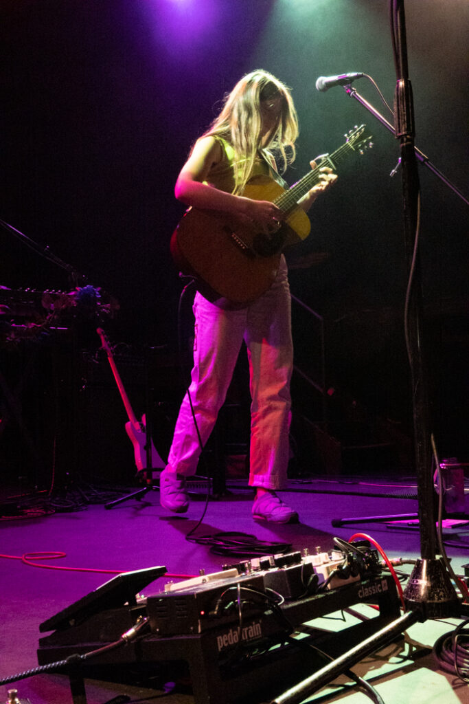 Tomberlin performing at Music Hall of Williamsburg