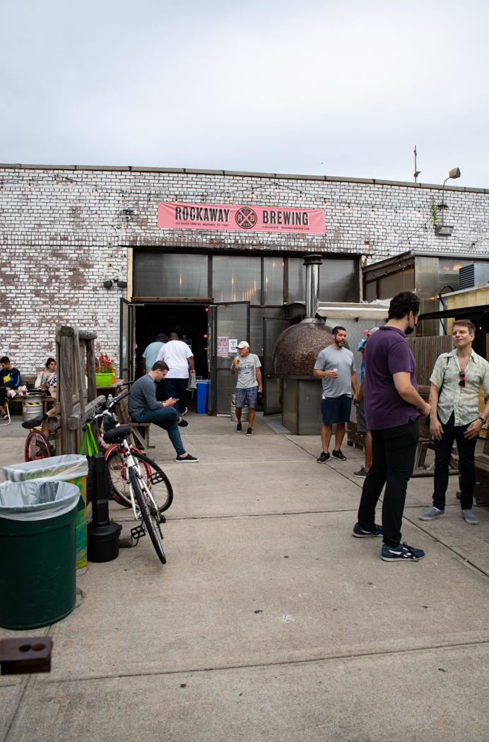 outside Rockaway Brewing Company