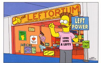 Happy International Lefthanders Day