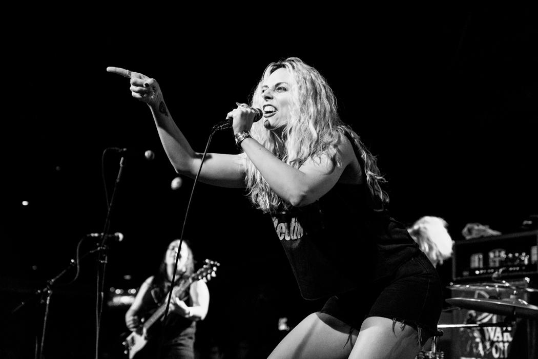 War On Women performing