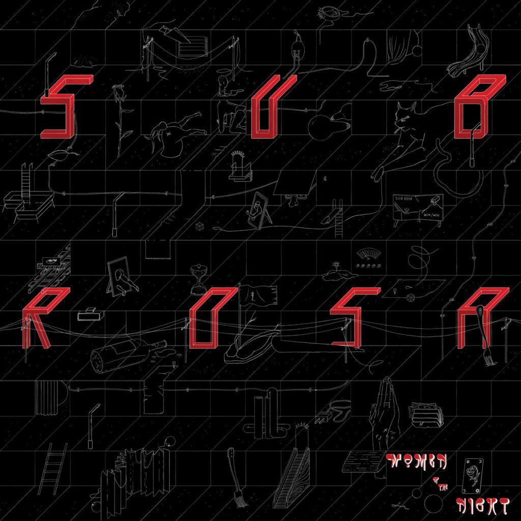 """Women of the Night """"Sub Rosa"""" album cover"""