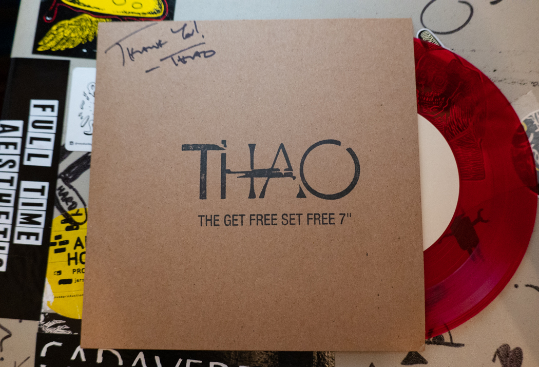 Thao limited edition 7inch
