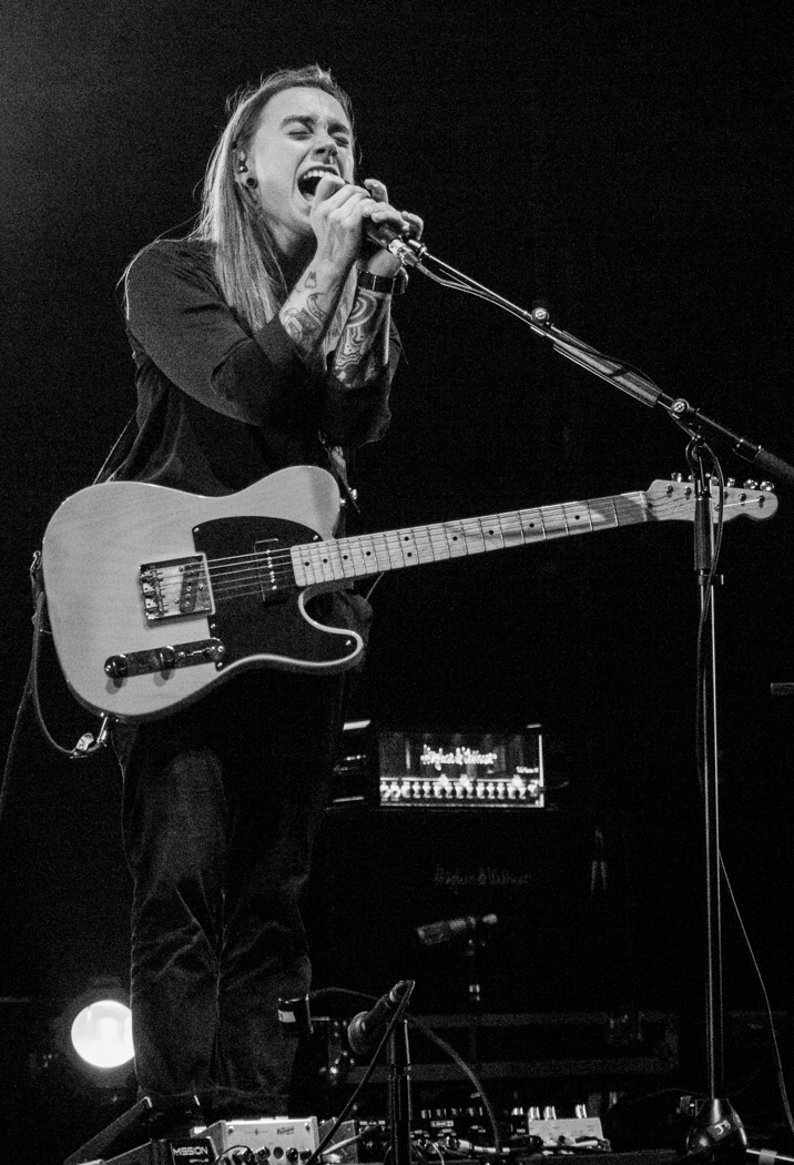 Julien Baker performing at Beacon Theater