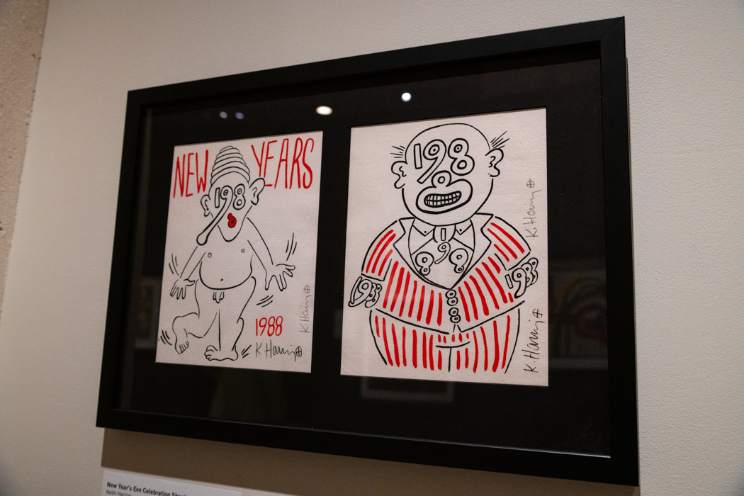 Keith Haring at Fenimore Art Museum