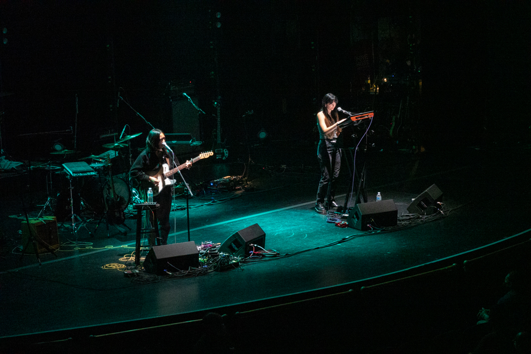 Mini Trees performing at Beacon Theater