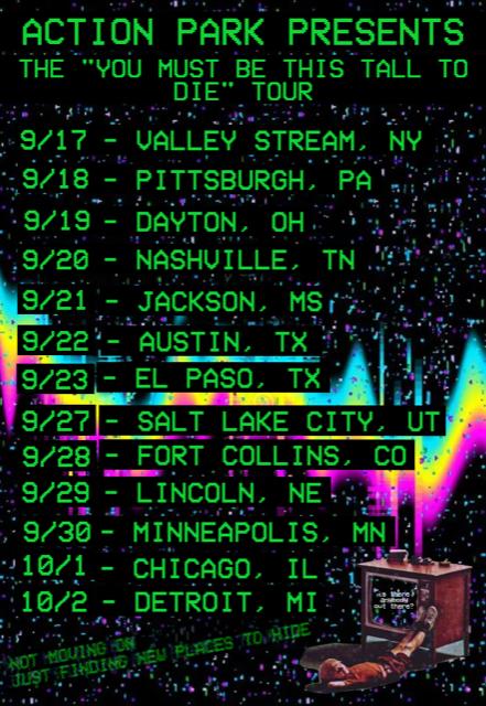 Action Park Tour Dates