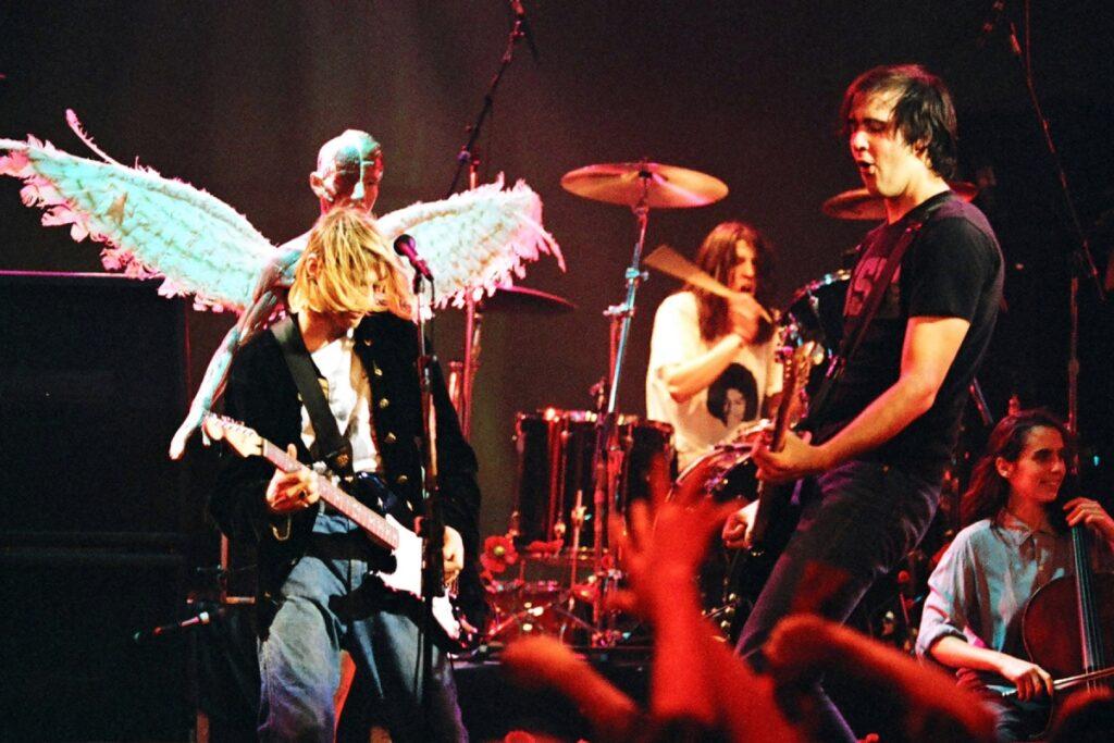 Nirvana live in 1993