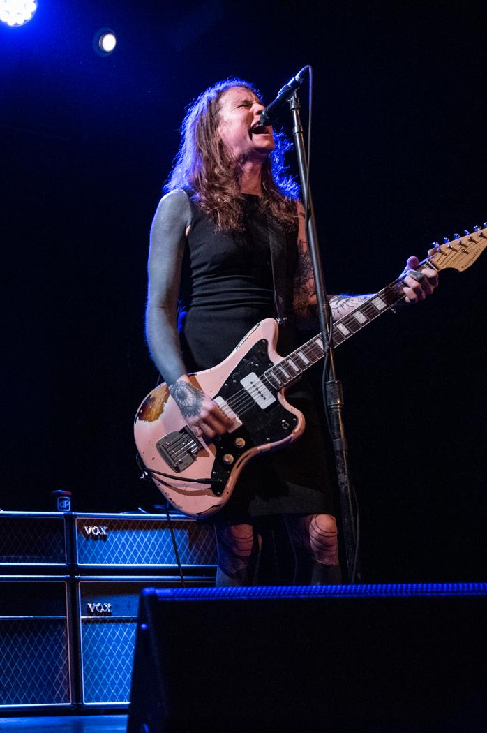 Laura Jane Grace performing