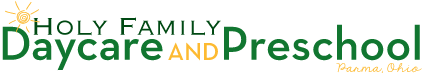 Holy Family Daycare Logo