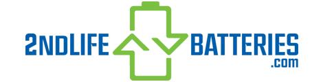2ndLifeBatteries PH: +1-585-902-8110 Logo