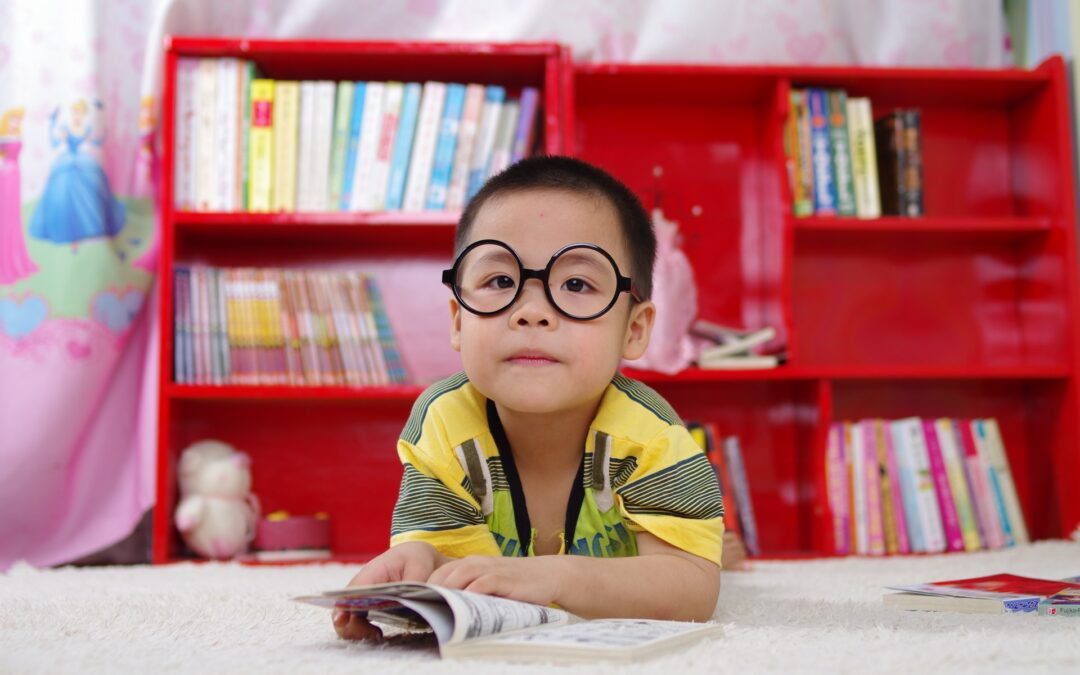 Books about children, body parts, and how to set safe boundaries