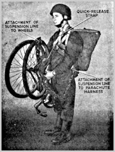 British WW2 Paratrooper Bike