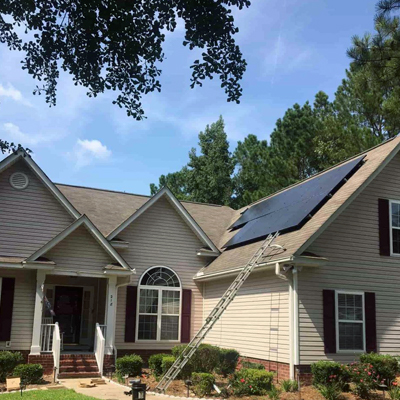Residential Solar Outfitters in North Carolina