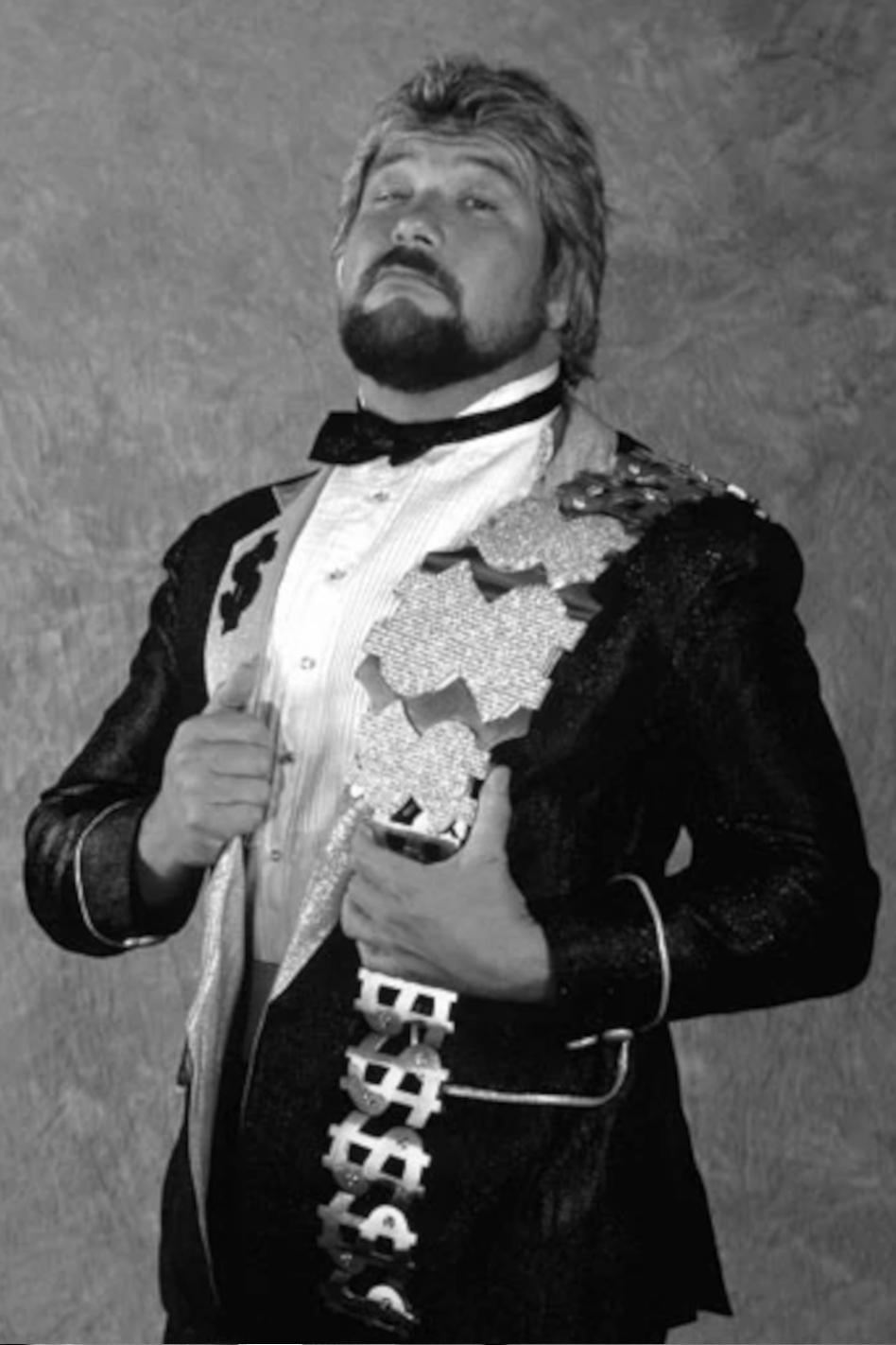 Wrestler Ted DiBiase
