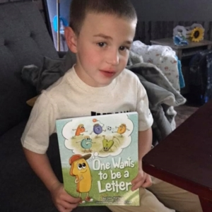 Chace Reading One Wants to be a Letter Square