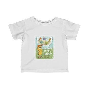 T-shirt One Wants to be a Letter Book Cover