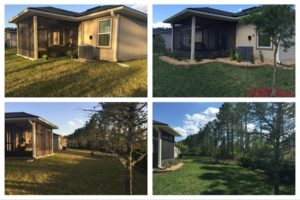 landscaping before after