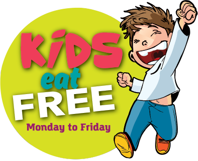 Kids East Free Monday through Friday