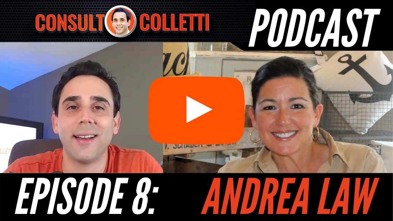 Consult Colletti Podcast. Episode 8: Andrea Law - youtube