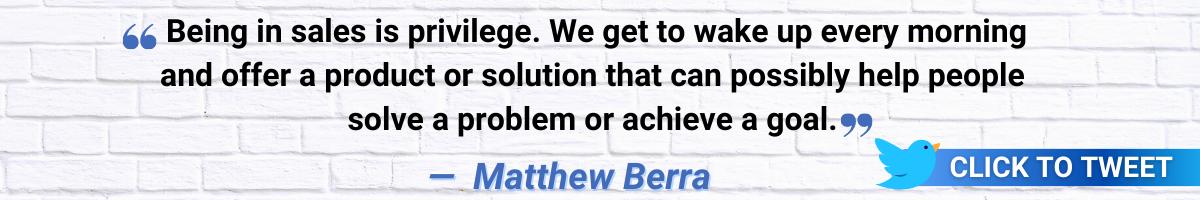 Matthew Berra MSS CTT