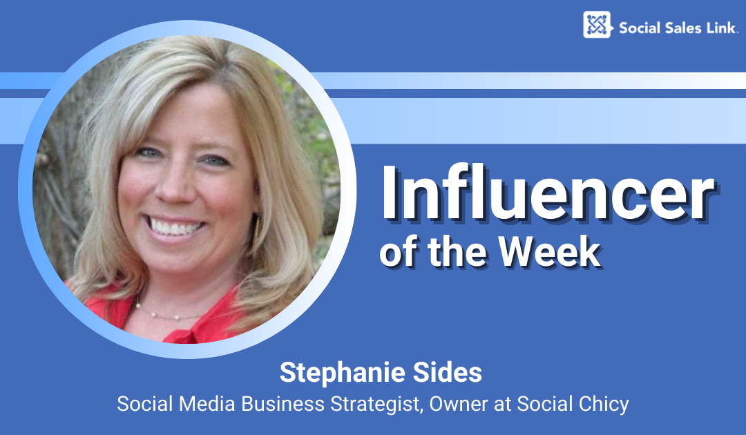 Blog_Influencer of the Week - Stephanie Sides