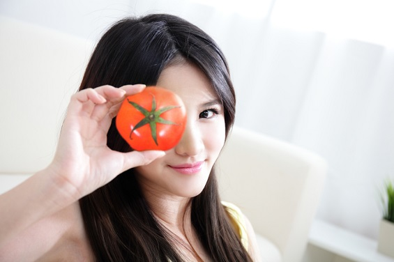 tomatoes with umami flavor