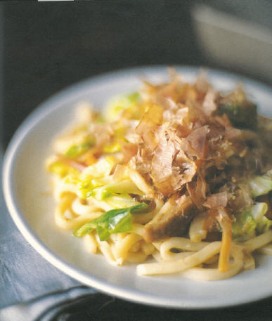 Japanese Cooking udon noodles