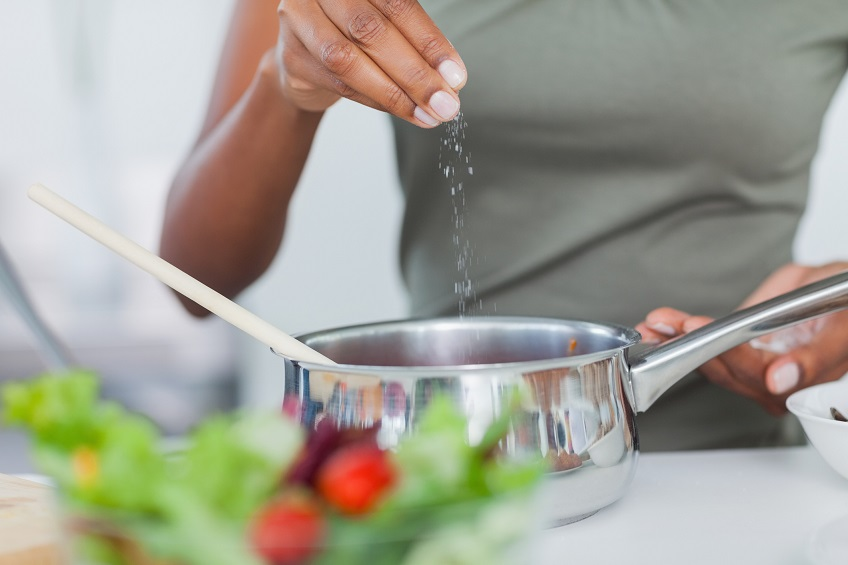 Salt and MSG to reduce sodium