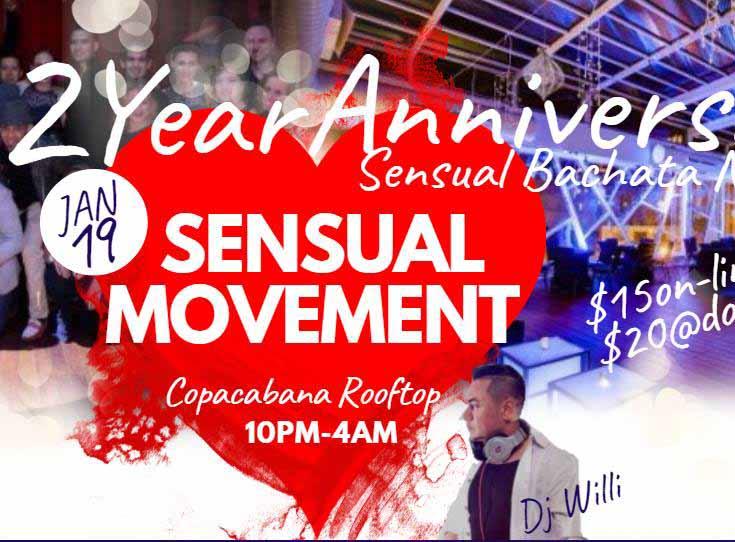 SENSUAL MOVEMENT 2 YEAR ANNIVERSARY!