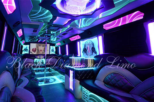 Party bus with Daniel and Desiree, January 23, 2020