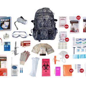 2 Person Elite Survival Kit Camo