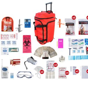 2 Person Deluxe Survival Kit (72+ Hours)