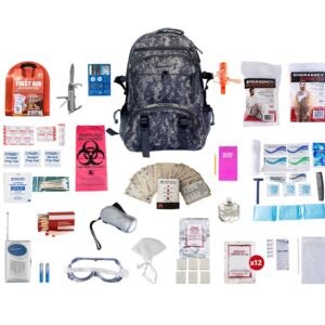 2 Person Deluxe Camo Survival Kit (72+ Hours)