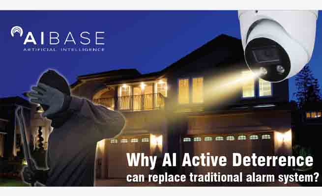 Why AI Active Deterrence Can Replace Alarm System