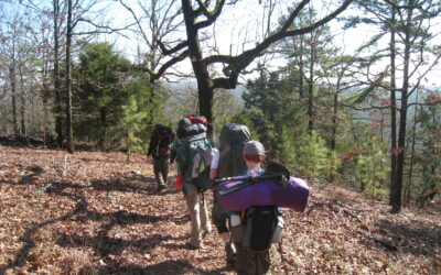 Beavers Bend Backpacking – October 2010