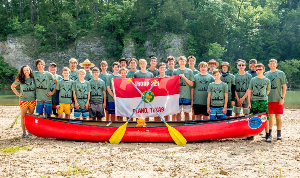 Scouts of Troop 221 - Adventure, Character, Leadership
