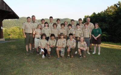 Summer Camp 2010 – Camp Davy Crockett