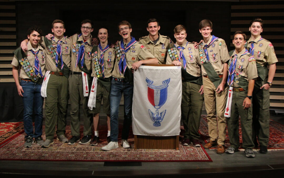 Eagle Court of Honor - Spring 2019