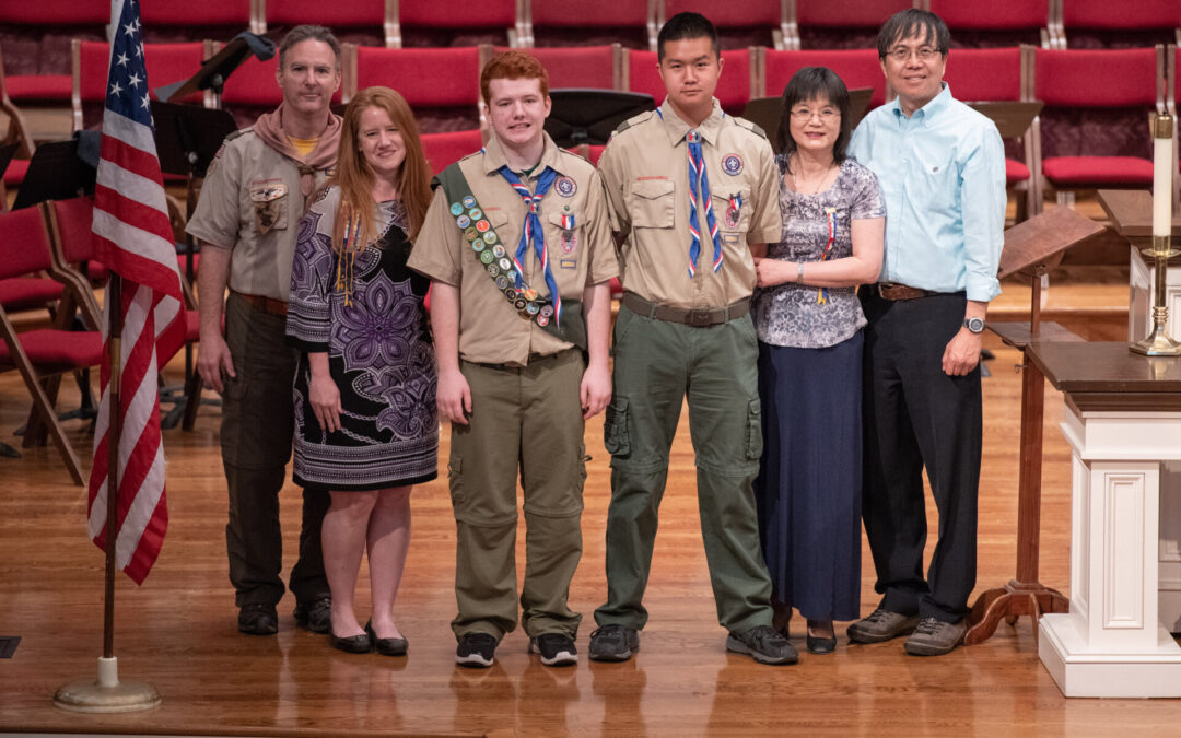 Eagle Court of Honor - Spring 2018