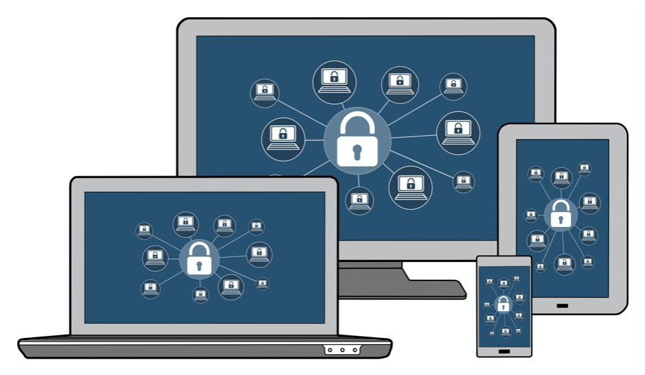 cyber security iconography