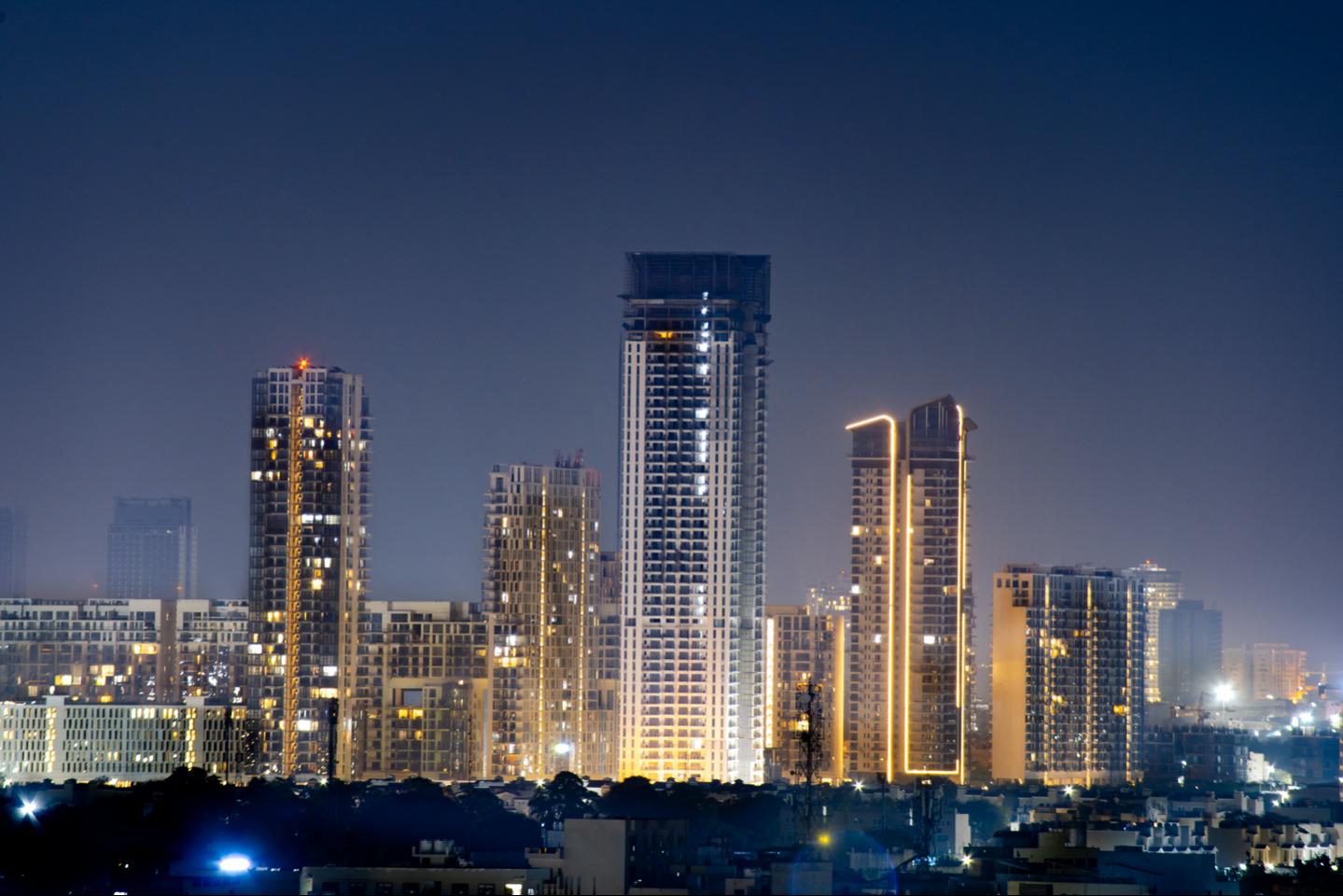 delhi skyline image